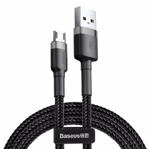Baseus Cafule 2.4A Micro USB 1 Metre Şarj Kablosu