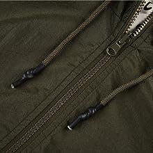zipper up front