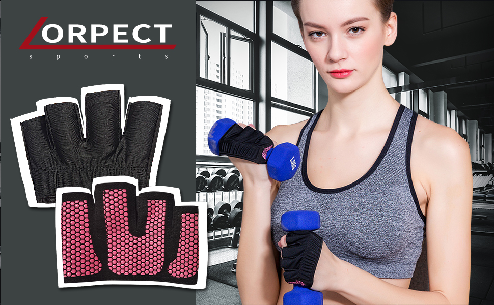 Weight Lifting Gym Workout Gloves
