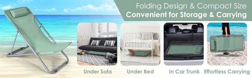 Folding Design amp; Compact Size