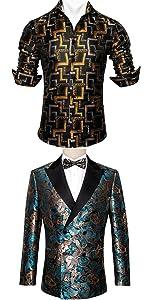luxury mens blazer jacket suit shirts