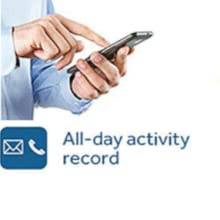 all day activity record