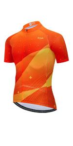 Uriah Men's Bicycle Jersey Short Sleeve Sweat Wicking