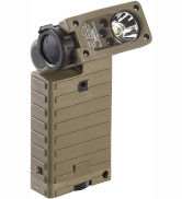 Streamlight 14032 Sidewinder Military Tactical Flashlight with Articulating Head, High Lumen, Coyote