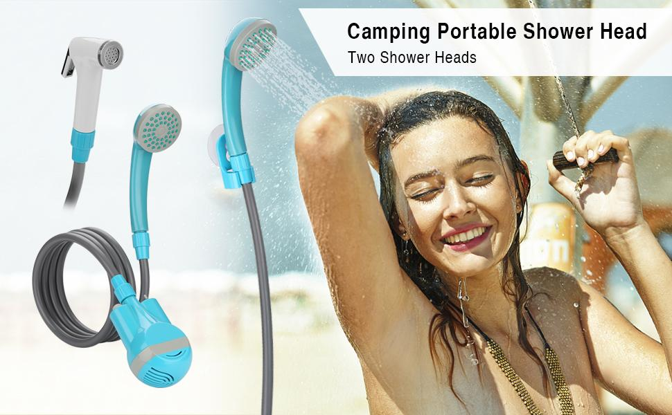 camping protable shower head