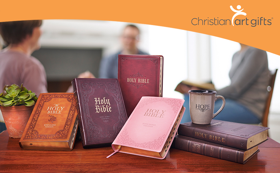 Christian Art Gifts Giant Print Full Size Bible Collection