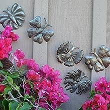 Metal Garden Butterflies