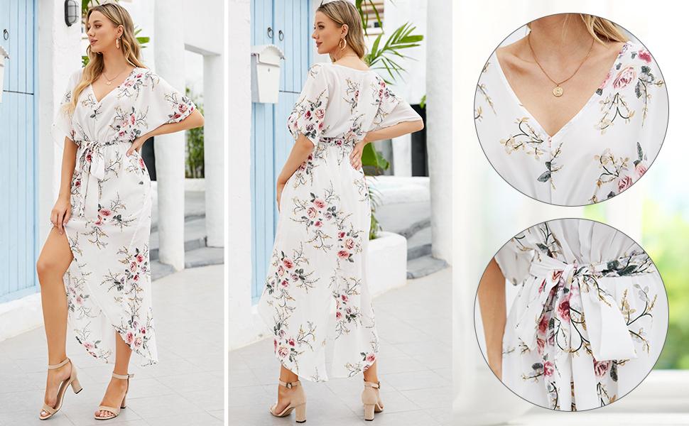 womens summer plus size  long dress