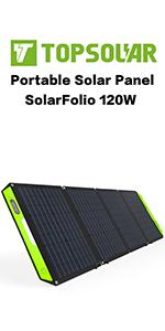 120W solar charger