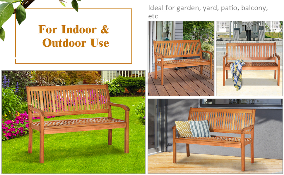 outdoor patio bench chair