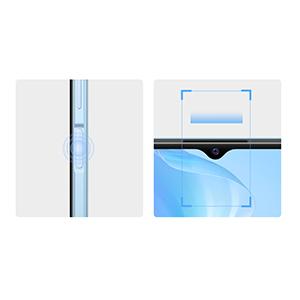 Side Fingerprint Sensor + Face Wake
