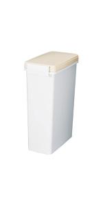 新輝合成トンボ セパ パッキン付ペール 12L 生ゴミの臭いも閉じ込めるペール ゴミ箱ベージュ12L00857
