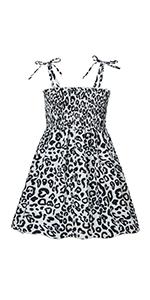 Vieille Toddler Girl Summer Dresses Little Girls Beach Sundress Sleeveless Holiday Dress 2T