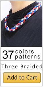 baseball rope necklace boys baseball necklace tornado necklace paracord necklace rope necklace