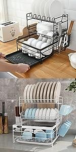 Dish Drying Rack 3 Tier