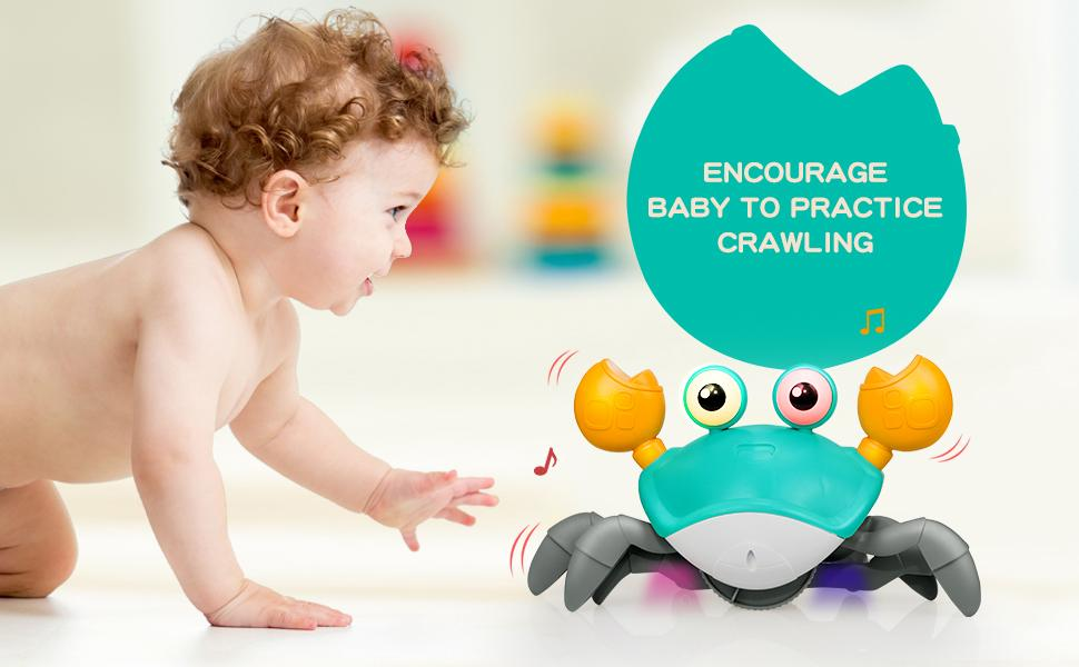 Encourage Baby to Practice Crawling