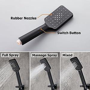 JiaYouJia 3-Mode Handheld Shower