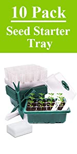 10Pack seed starter tray