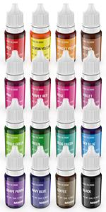 Food Coloring for Cake Decorating 16  colors