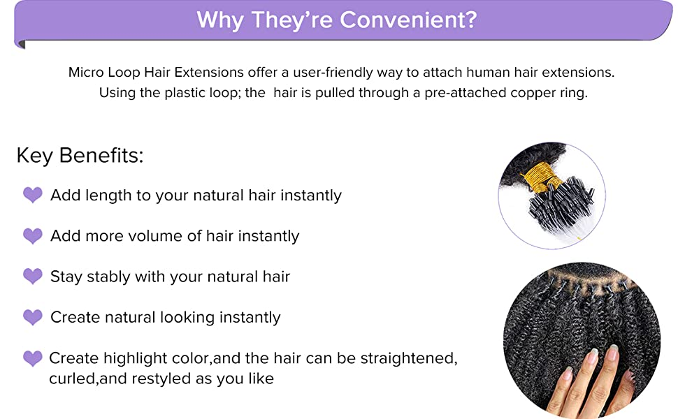 Why choose micro ring hair extensions