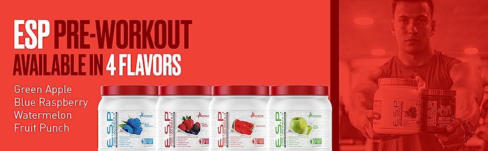 metabolic nutrition esp green apple fruit punch blue rapsberry watermelon