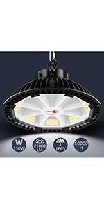 Industrielle Lampe 150W