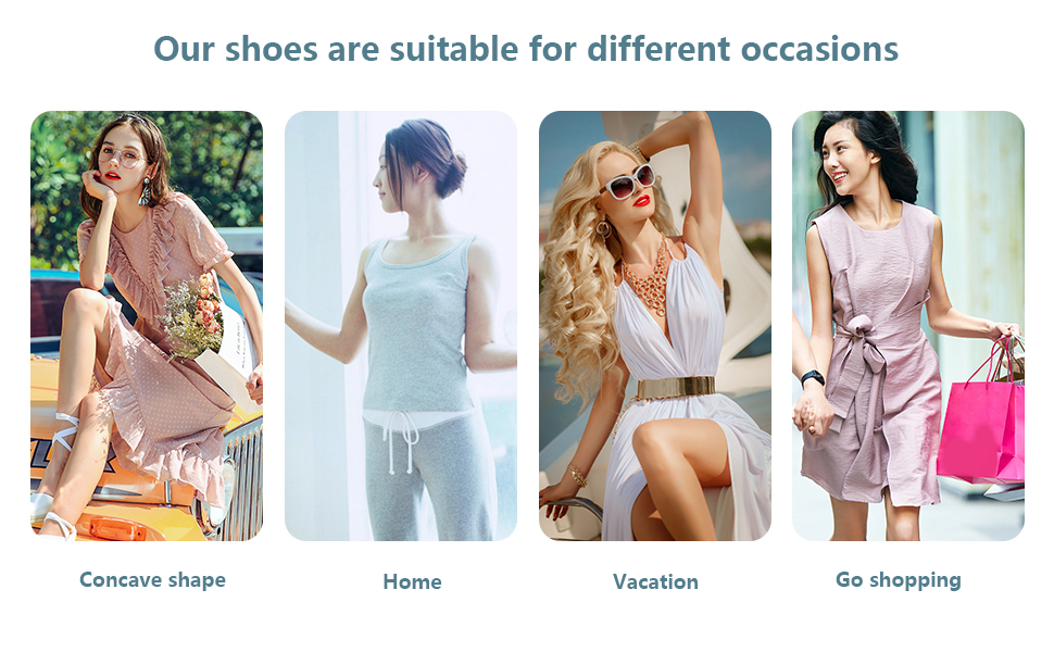 Women Platform Wedge Sandals