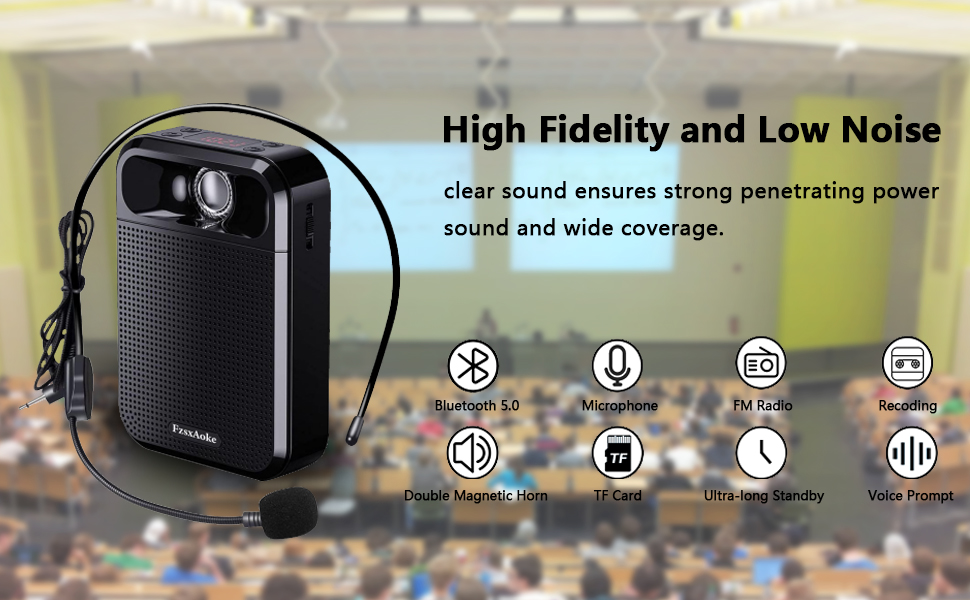 High Fidelity and Low Noise