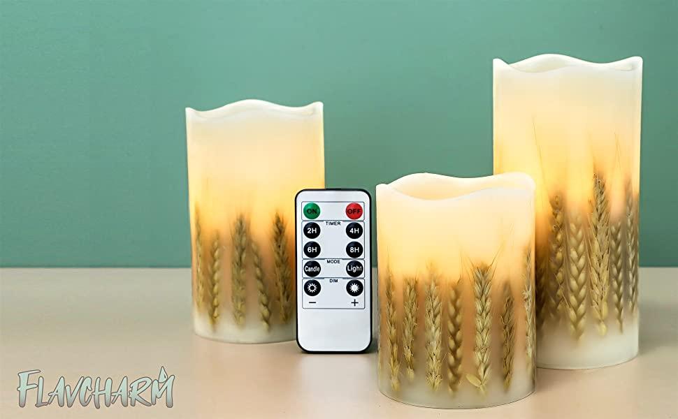 Real Wax LED Flameless Candles