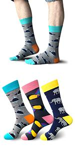 Cute Animal Print Socks