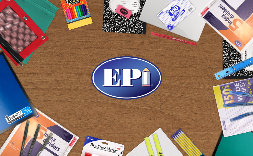 Epi school supplies kit for middle school