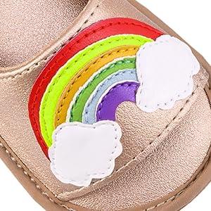 Baby Girls Sandals Infant Summer Shoes First Walker Toddler Soft Sole Beach Slipper