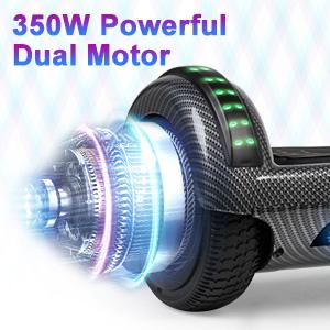 350W Powerful Dual Motor