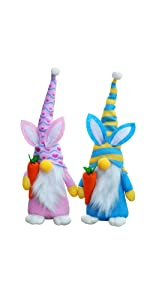 Easter Bunny Gnomes Decoration