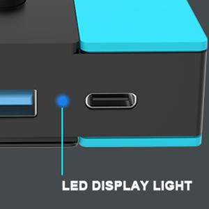 switch tv dock with LED indicator