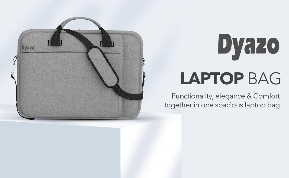Dyazo Laptop Bag Grey