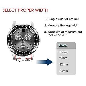 correas reloj 20mm