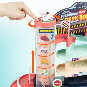 Kids Toy Car Garage