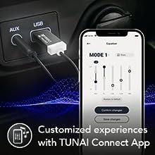 customise eq setting tunai app