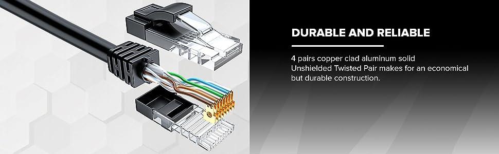 Cat 6 CCA maximm cable