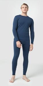 thermal underwear long johns base layer long sleeve underwear undershirt pajama