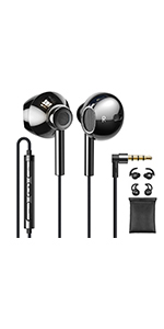 3.5mm Earbuds Wired Hi-Fi Stereo C2 B