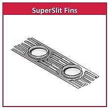 SuperSlit Fins