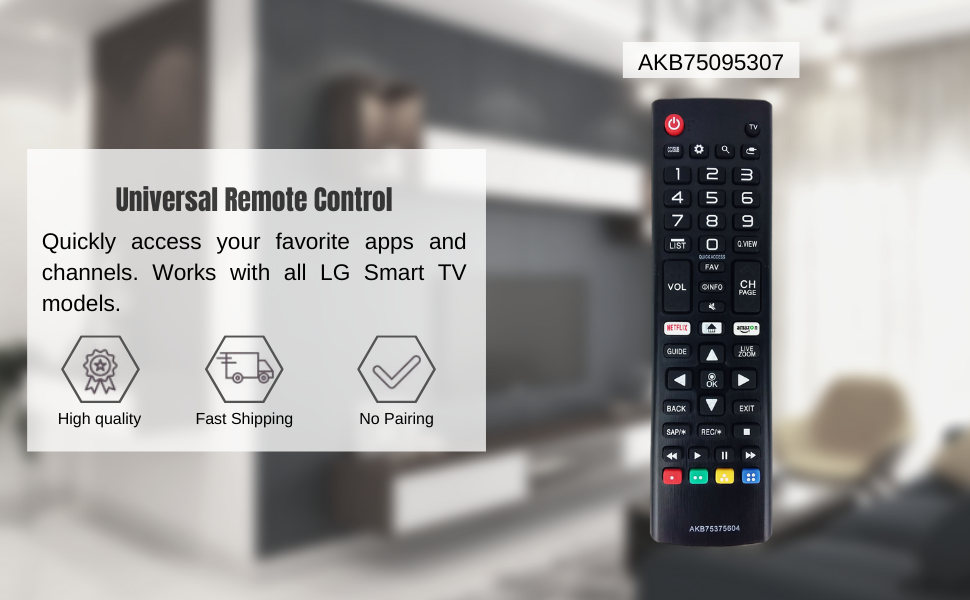 LG Remote Replacement