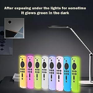 firestick remote case cover glow in the dark