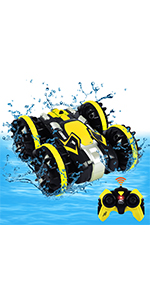 Amphibious RC Car