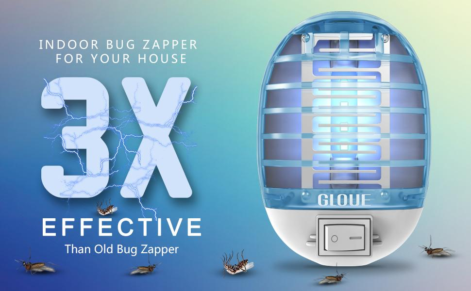 INDOOR BUG ZAPPER  FOR YOUR HOUSE 3X EFFECTIVE  THAN YOUR OLD BUG ZAPPER