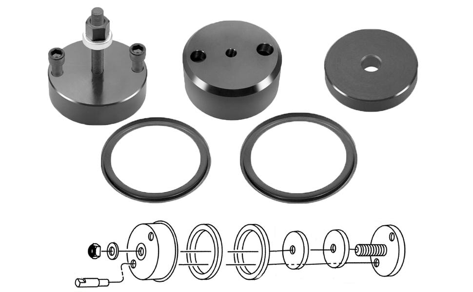 Front and Rear Crankshaft Oil Seal Wear Sleeve Installer