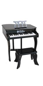 baby grand pianos symphonic piano toy black schoenhut kids melodica red
