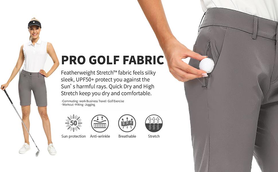women' golf short hiking short
